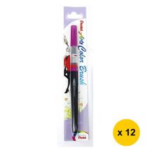 Pentel Arts XGFL-150 Refillable Calligraphy Fude Color Brush Pen (12pcs)... - $55.13
