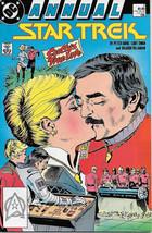 Classic Star Trek Comic Book Annual #3 DC Comics 1988 FINE+ - $2.75