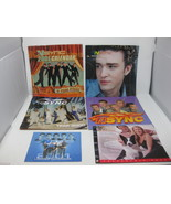 Lot of 6 Vintage NSYNC 2000/2001 Calendars Justin Timberlake Purina Rare - $31.67