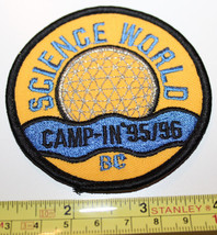 Girl Guides Science World Camp In 95/96 Vancouver Canada Patch Badge - $8.17