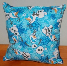 OLAF Pillow Disney Olaf Frozen HANDMADE in USA New Snowman - $9.99