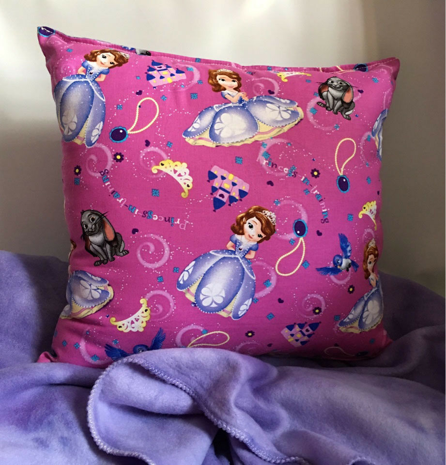 Sofia the First Princess In Training Pillow and Blanket & Pillow Set