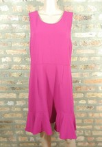 Target A New Day Fuchsia Fluted Flared Sheath Cocktail Career Work Dress... - $15.00