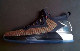 ADIDAS D LILLARD 2.0 BOOST SHOES March Madness Multi-color B27741 Size 7.5 - $65.10