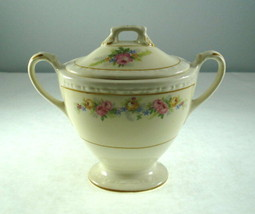 Homer Laughlin Sugar Bowl with Lid - $14.01