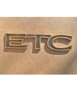 1995-98 CADILLAC ELDORADO GOLD ETC TRUNK EMBLEM. - $12.00