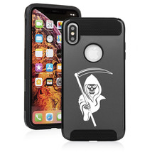 For Apple iPhone X XS MAX XR Shockproof Hard Soft Case Cover Grim Reaper - $14.99