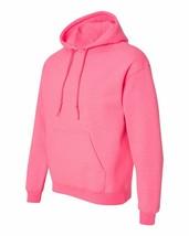 7 Gildan Safety Pink Adult Hooded Sweatshirts Bulk Wholesale Lot S-XL Hoodie - $81.25