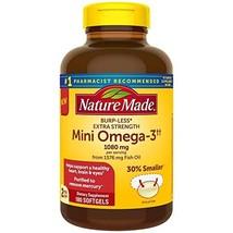 Nature Made BurpLess Extra Strength 1080mg Mini Omega 3 Fish Oil (180 ct.) - $32.67
