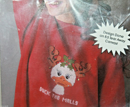 Golden Bee Wearables Duck the Malls 60323 Christmas Counted Cross Stitch... - $20.93