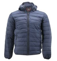 Maximos Men's Slim Fit Lightweight Zip Insulated Packable Puffer Hooded Jacket image 6