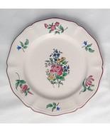 """Luneville France K & G old strasbourg  salad plate 6497587 /  8""""  flower... - $29.99"""