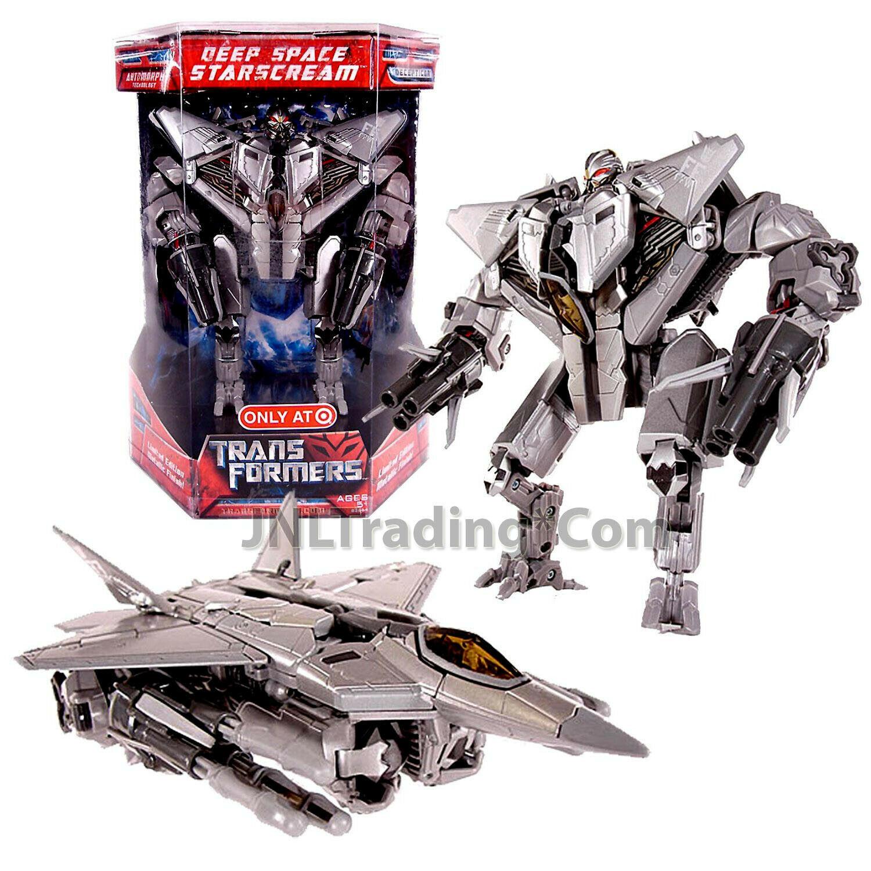 "Year 2007 Transformers 1st Movie Exclusive Voyager 7"" Deep Space STARSCREAM"