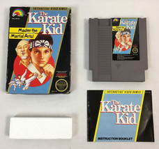 The Karate Kid (Nintendo Entertainment System NES, 1987), Complete in Box - $36.09