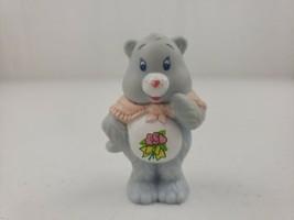 "Vintage Care Bear GRAMS Figure Pink Shawl Rose 1984 AGC Toy 2"" Rare - $22.90"