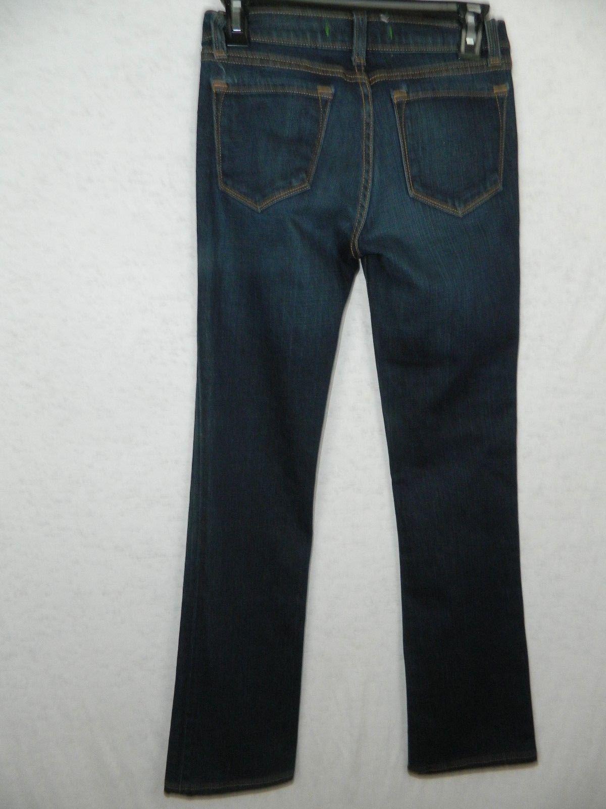 J Brand Jeans Straight Leg Jeans  Dark Wash Style #805 Size 25 image 4