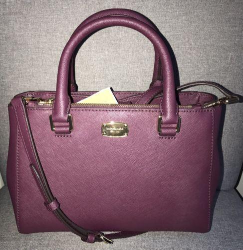 3d61e2c16cad Michael Kors Kellen Plum Xs Satchel Handbag and 50 similar items. 12