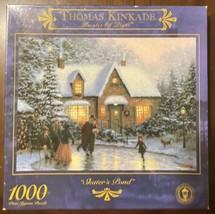 """Thomas Kinkade Painter of Light """"Skater's Pond"""" 1000 Piece Puzzle Winter Xmas - $18.32"""