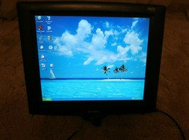 Elo Touch-Systems Model ET1725l-8CWF-1-G E326261 17 in LCD Monitor - $89.05