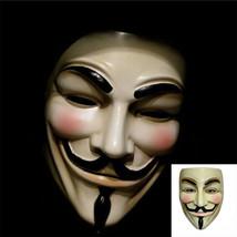 V For Vendetta Mask Guy Fawkes Anonymous Halloween Masks Fancy Dress Costume ~~~ - $1.99