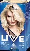 2 x Schwarzkopf Live Hair Dye Intense Lightener Hair Colour Max Blonde 9... - $25.18