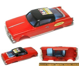 1967 Ideal Motorific 1/43 Barracuda Body Unused Odd Factory Computer Car Sticker - $17.81