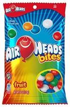 AirHeads Bites Candy Peg Bag, Fruit, Non Melting, 6 Ounce (Bulk Pack of 12) - $20.13
