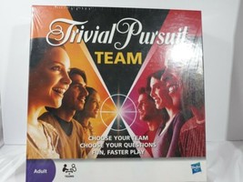 Trivial Pursuit Team Edition Game By Hasbro 2009 New & Factory Sealed! - $21.29