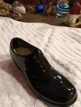 Vintage Porcelain black Shoe - $3.99