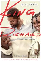 King Richard Poster Will Smith Serena Williams Movie Art Film Print 24x3... - $10.90+