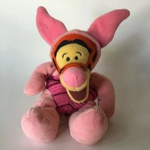 Disney Tigger as Piglet Bean Bag Plush Stuffed Toy Kids Easter Vintage Halloween - $16.00