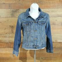 Gap Kids Denim Jacket Kid's Size L Blue - $11.38