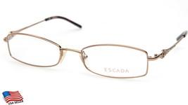 New ESCADA VES 636 Col 300 Brown EYEGLASSES GLASSES FRAME 52-18-140mm - $34.29