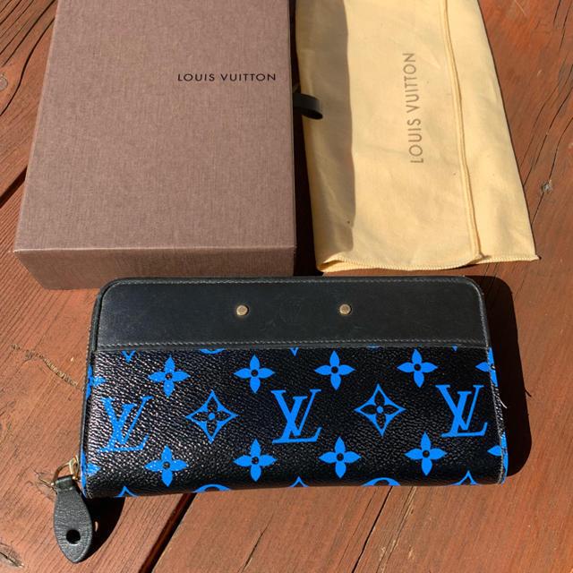d941c11f Louis Vuitton Digit Bleu Blue Black Zippy and 16 similar items