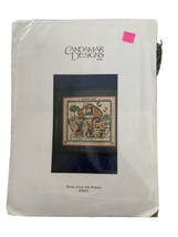 Candamar Designs Counted Cross Stitch Kit Home Sweet Ark Picture #50915 ... - $15.42
