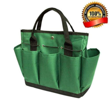 Dorathye Gardening Tool Storage Bag 8 Pockets Oxford Tote Organizer Tool... - $18.45