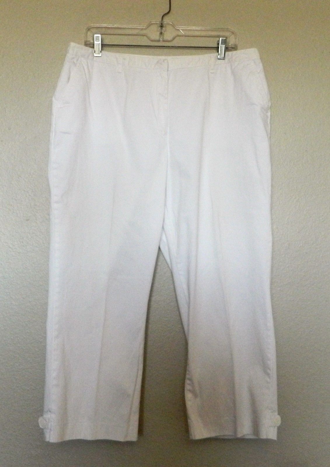36848903ca6 Cato Capri Pants 16 White Cropped Classic and 18 similar items. 57