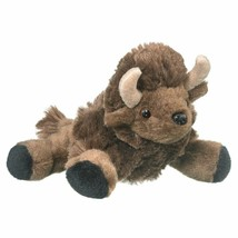"Wildlife Artists Bison Plush Finger Puppet Toy, 7"" Bison Play Critters... - $8.72"