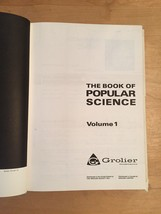 "Vintage 1971 Grolier ""The Book of Popular Science"" complete 10 book set (unused) image 10"