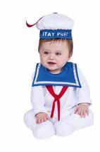 Rubies Stay Puft Ghostbusters Newborn Children Romper Halloween Costume ... - $26.79