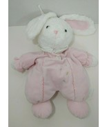 Carters pink bunny rabbit plush crib hanging flowers FLAWS NO LONGER MUS... - $9.89