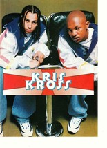 Kris Kross teen magazine pinup clipping rap movie time older Bop Teen Beat - $3.50