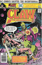 Claw The Unconquered Comic Book #8, DC Comics 1976 VERY FINE- - $3.75