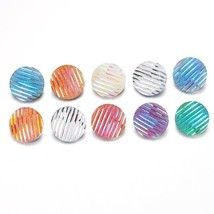 Mix 10pcs/lot New Round 18MM Snap Buttons With Zinc Alloy Button for Sna... - $7.92