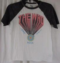 The Who Women's  Graphics T Shirt Long Live Rock Size XS - $12.86