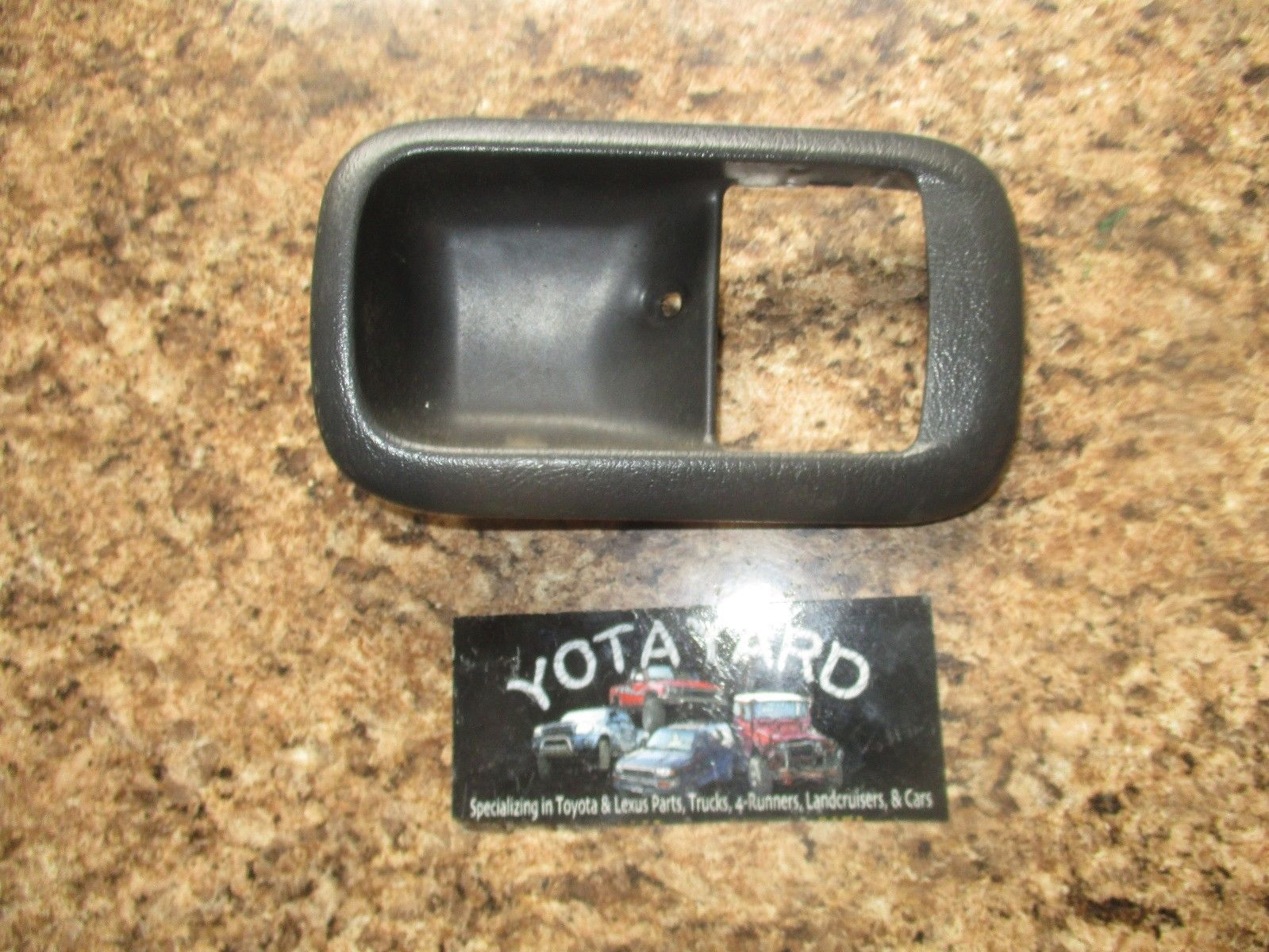 For 1998-2003 TOYOTA SIENNA Brown Inside Front Right Pass RH Side Door Handle