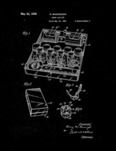 First Aid Kit Patent Print - Black Matte - $7.95+