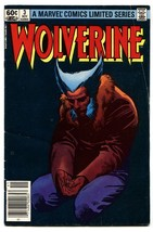 Wolverine Limited Series #3 Comic book-Marvel 1982 Comic Book - $18.92