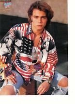 Joey Lawrence teen magazine pinup clipping ripped jeans watch open legs ... - $3.50