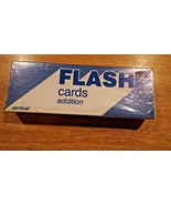 Addition flash cards vertical learning resources - $5.93